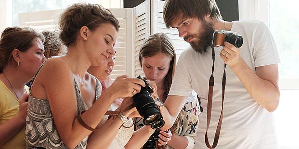 Курс фотостарт - на курсах фотографии