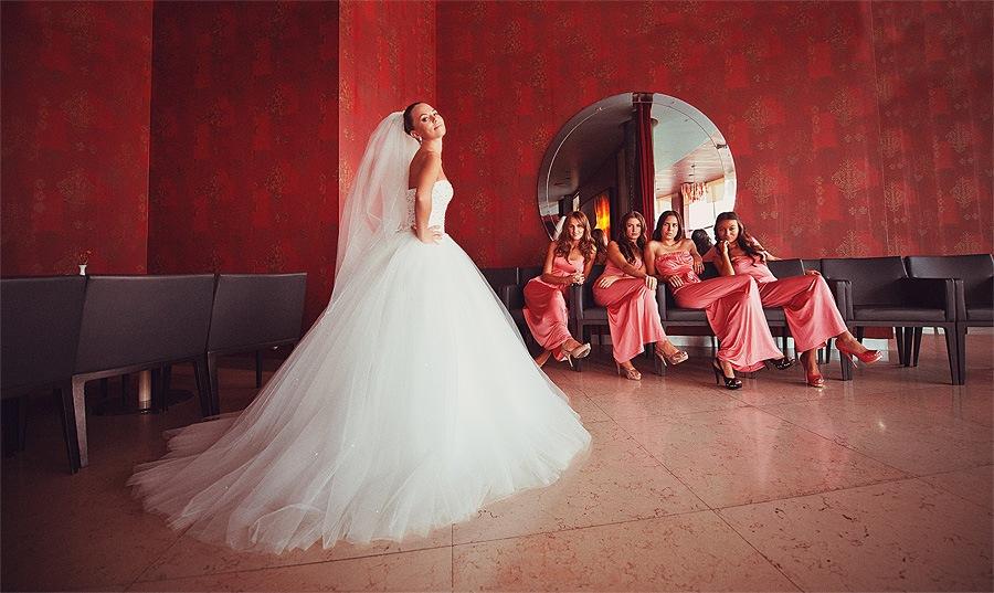 Утро невесты на курсе свадебной фотографии