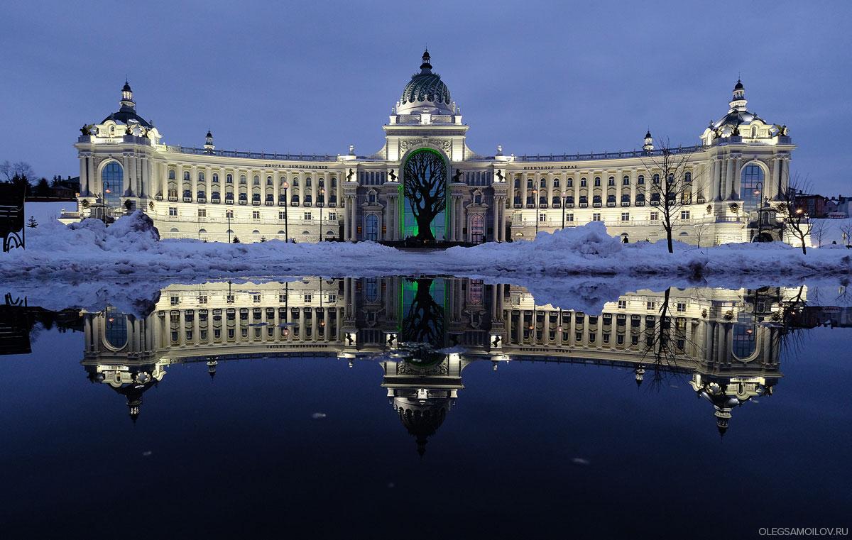 Вечернаяя фотосъемка города Казань на Fujifilm X-Pro2