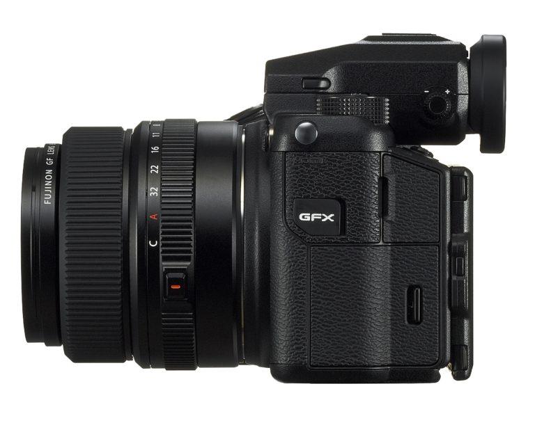 Fujifilm GFX 50s +63mm